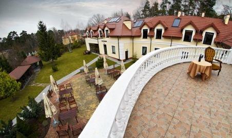 Sale weselne - Dwór Konstancin*** - 1315299825widok_z_tarasu.jpg - SalaDlaCiebie.pl