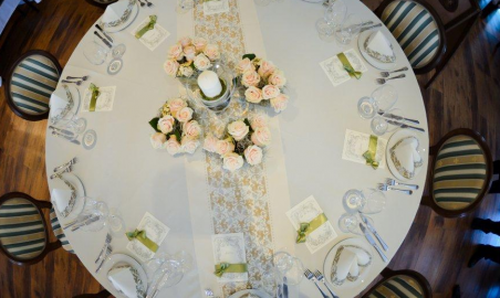 Sala weselna - stoły okrągłe