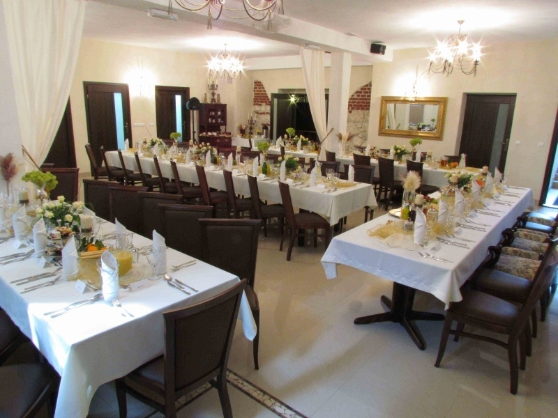 Sale weselne - Dworek Złoty Róg Pensjonat i Restaurcja - SalaDlaCiebie.com - 9