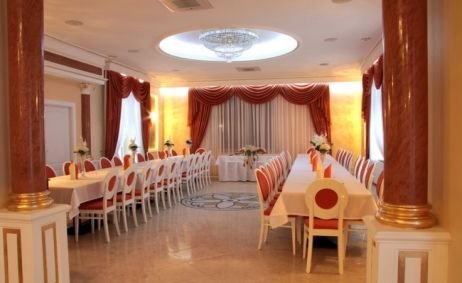 Sale weselne - Pokoje gościnne Konrad - 5162cbd3dd71fsala_zlota.jpg - SalaDlaCiebie.pl