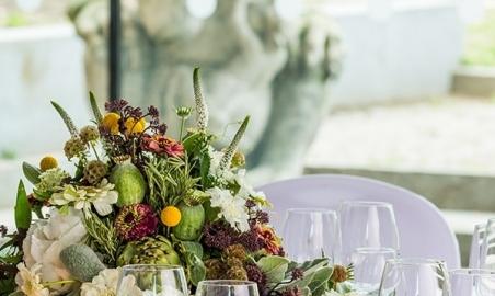 Sale weselne - Wesele na Zamku Królewskim w Arkadach Kubickiego - 572343221cdc1catering_kregliccy_stol_maszkaron_vii2015125.JPG - SalaDlaCiebie.pl