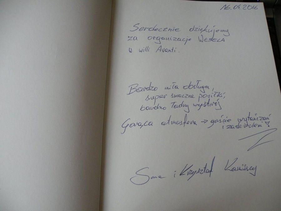Sale weselne - Villa Avanti (od 160 zł za osobę) - SalaDlaCiebie.com - 22