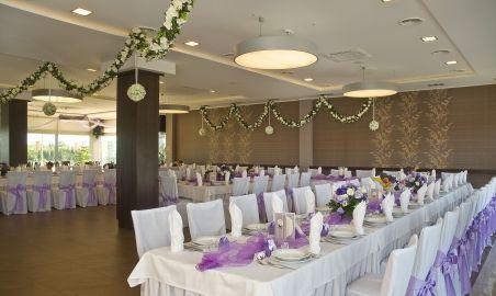 Sale weselne - Hotel Cztery Brzozy - 554cd5a866f3fwesele_fioletowe_portal_3.jpg - SalaDlaCiebie.pl