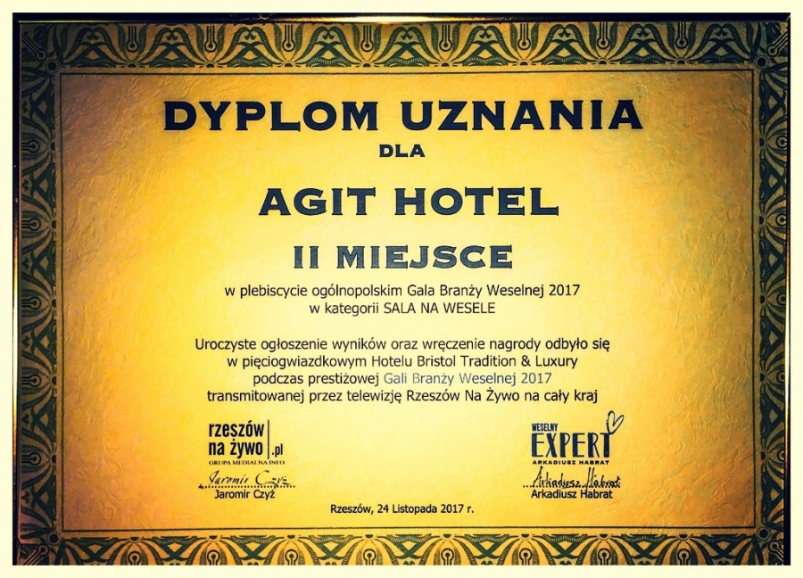 Sale weselne - AGIT Hotel Congress & SPA - SalaDlaCiebie.com - 43