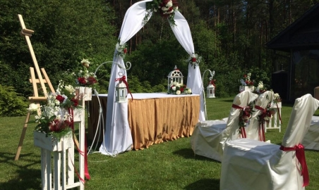 Sale weselne - Dworek nad Rozlewiskiem - 5a9d616a6dfdc3slub_w_ogrodzie_0306.jpg - www.SalaDlaCiebie.com
