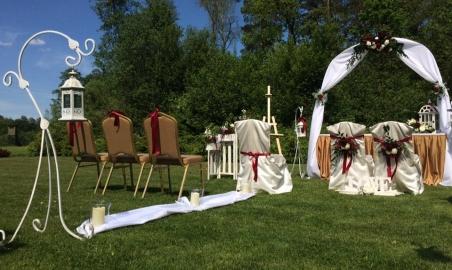 Sale weselne - Dworek nad Rozlewiskiem - 5a9d62a7a2ca3slub_w_ogrodzie_0306.jpg - www.SalaDlaCiebie.com