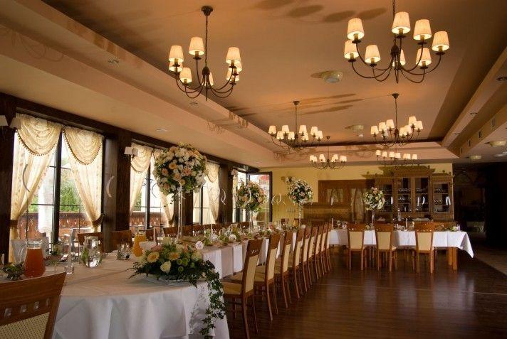 Sale weselne - Hotel Restauracja ,,Chata za wsią