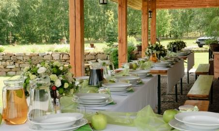"""Sale weselne - Hacjenda """"Dolina Żab"""" - Stodoła Weselna! - 568e7969ac90015_przyjecia_plenerowe.JPG - SalaDlaCiebie.pl"""