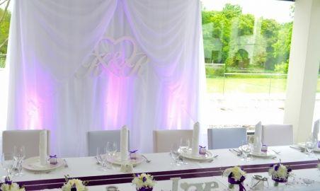 Sale weselne - Hanza Pałac - 56b88988e9acdkurtyna_za_mloda_para.jpg - SalaDlaCiebie.pl