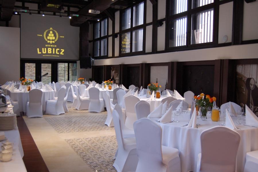 Sale weselne - Browar Lubicz Restauracya Browarna - SalaDlaCiebie.com - 8