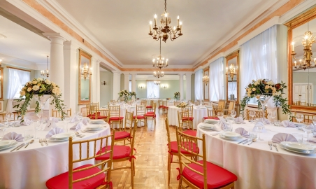 Sale weselne - Pałac w Zaborówku - SalaDlaCiebie.com - 2