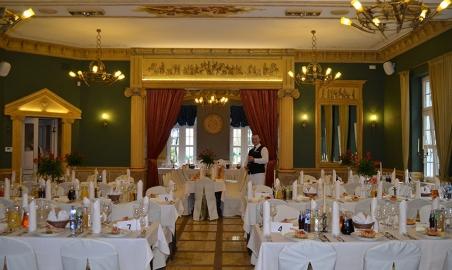 Lisewski Dwór sala restauracyjna
