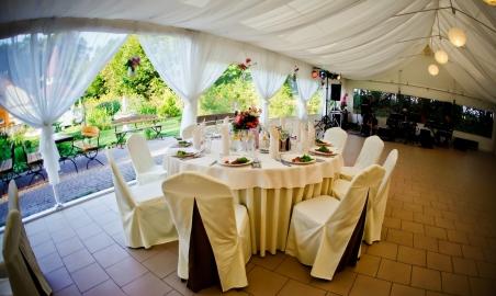 Lisewski Dwór sala weselna namiot