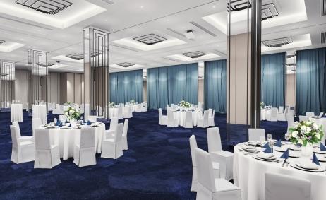 Sale weselne - Arche Hotel Krakowska - 5b6ed731bd5bfsala_bankietowa.jpg - www.SalaDlaCiebie.com