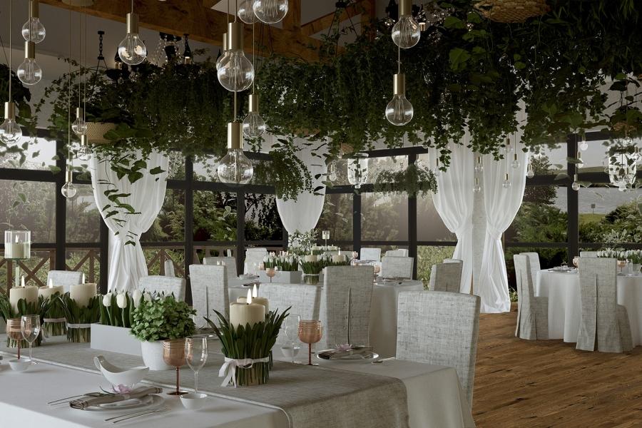 Sale weselne - Hotel Dwór Bogucin - SalaDlaCiebie.com - 5